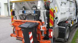 La raccolta stradale dei rifiuti