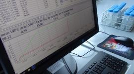 Laboratorio Veritas, monitor di controllo della strumentazione